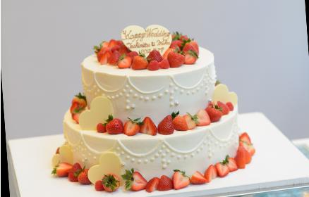 オーダーメイドのウェディングケーキ