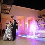 結婚式 噴水