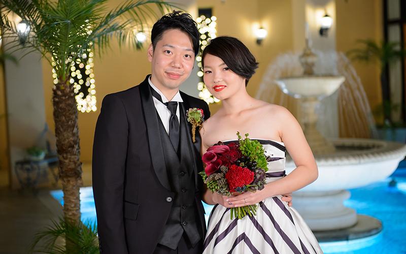 結婚式ライトアップ
