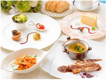 「欧風洋食ランチ1,700円
